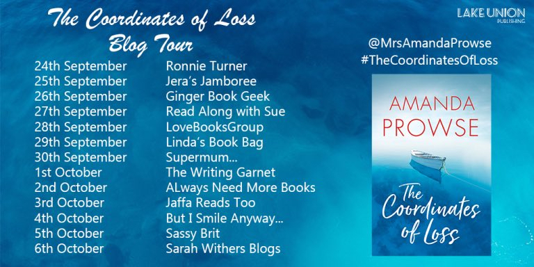 The Coordinates of Loss - Blog Tour
