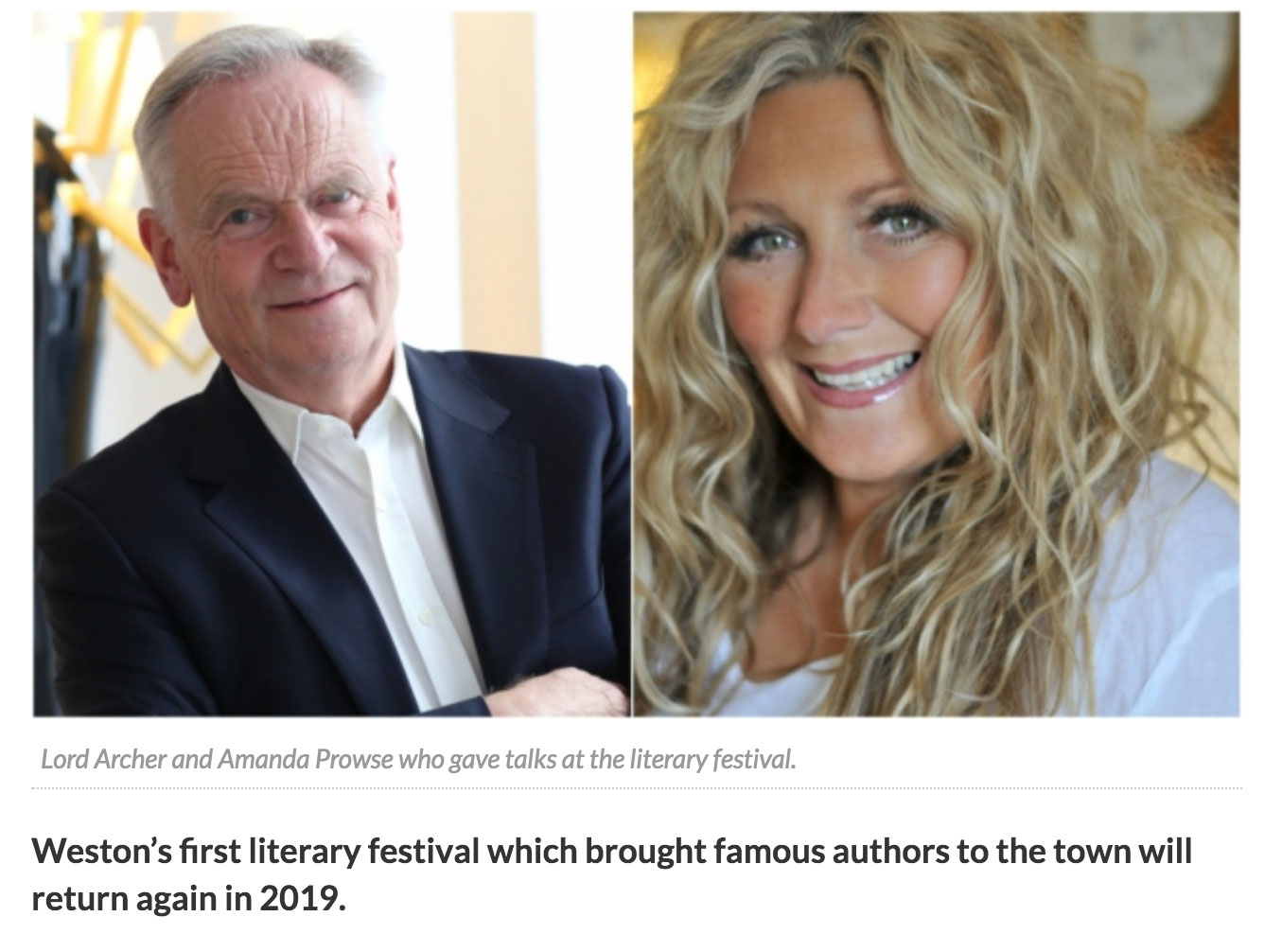Literary Festival to Return in 2019.