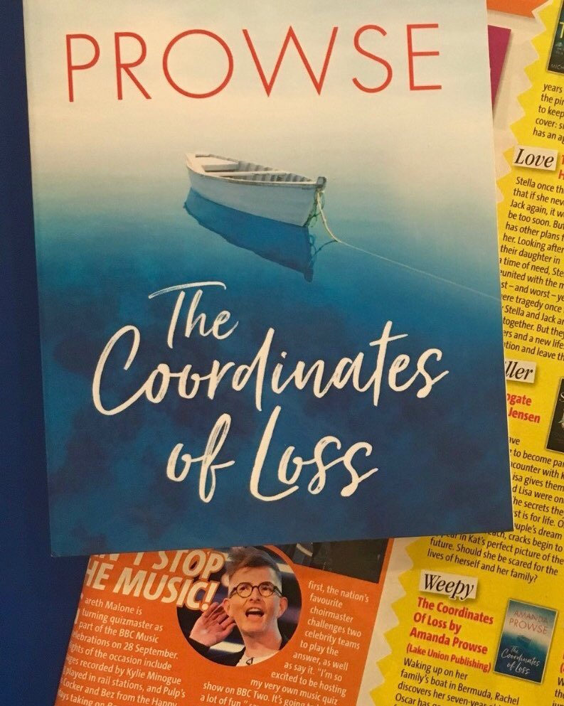 Bella Magazine - 'The Coordinates of Loss' selected as a 'Hottest Read'