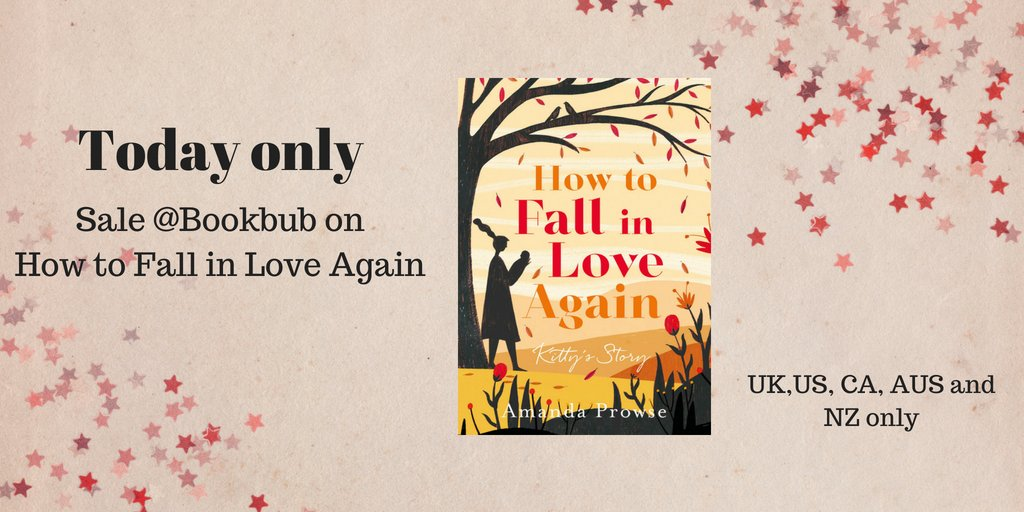 How to Fall in Love Again - Kitty's Story on BookBub Promotion