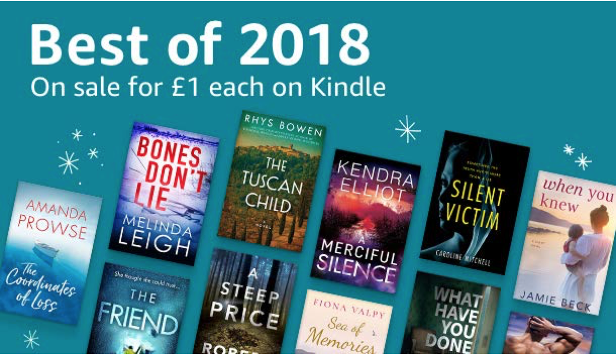 'The Coordinates of Loss' in Kindle 'Best of 2018' Promotion